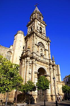 Church of San Miguel, Jerez de la Frontera, Cadiz Province, Andalucia, Spain, Europe