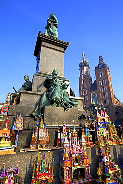 Traditional Christmas Crib Festival, Krakow (Cracow), Poland, Europe
