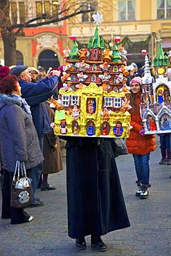 Traditional Christmas Crib Festival, Krakow, Poland, Europe
