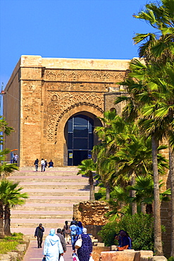 Bab Oudaia, Oudaia Kasbah, Rabat, Morocco, North Africa, Africa