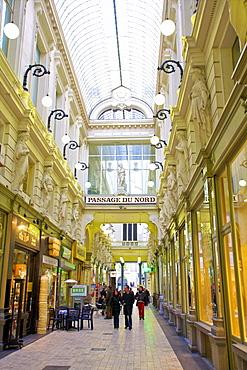 Shopping Arcade, Passage Du Nord, Brussels, Belgium, Europe