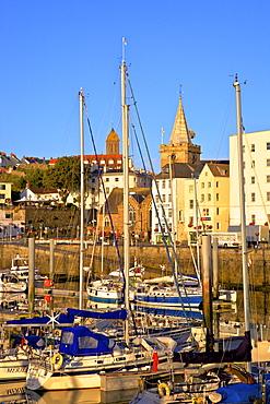 St. Peter Port Harbour, Guernsey, Channel Islands, United Kingdom, Europe