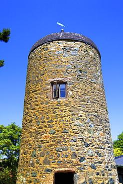 Historic Tower, Sark, Channel Islands, United Kingdom, Europe