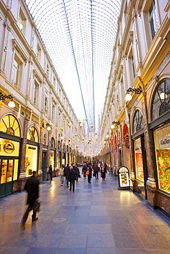 Galleries St. Hubert, Brussels, Belgium, Europe