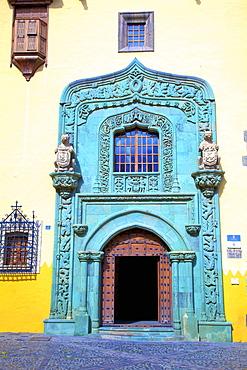 Casa de Colon, Vegueta Old Town, Las Palmas de Gran Canaria, Gran Canaria, Canary Islands, Spain, Atlantic, Europe