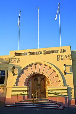 Art Deco National Tobacco Company Building, Ahuriri, Napier, Hawkes Bay, North Island, New Zealand, Pacific