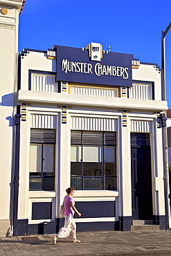 Munster Chambers Art Deco Building, Napier, Hawkes Bay, North Island, New Zealand, Pacific