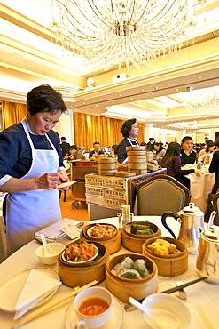 Dim Sum Restaurant, Hong Kong, China, Asia