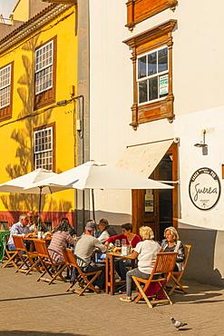 Restaurant in San Cristobal de La Laguna, Tenerife, Canary Islands, Spain, Atlantic Ocean, Europe