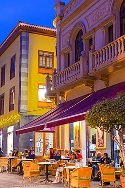 Restaurant, Puerto de la Cruz, Tenerife, Canary Islands, Spain, Atlantic Ocean, Europe