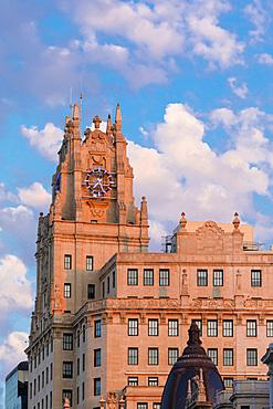 The Telefonica Building, Madrid, Spain, Europe