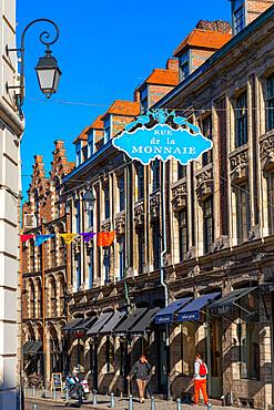 Rue de la Monnaie, Lille, France, West Europe