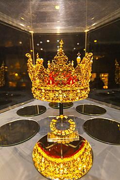 The Treasury, Rosenborg Castle, Copenhagen, Denmark, Scandinavia, Europe
