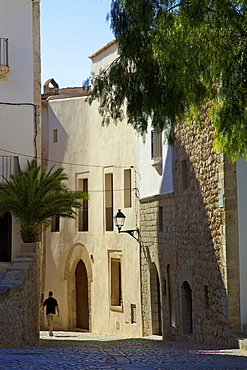 Dalt Vila, Ibiza Old Town, Ibiza, Spain, Europe