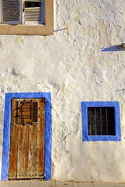 Traditional House, Dalt Vila, Ibiza Old Town, Ibiza, Spain, Europe