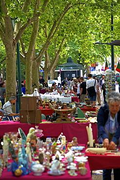 Antique Market, Lisbon, Portugal, South West Europe