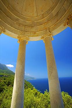 Archduke's Rotunda, Son Marroig, Mallorca, Spain, Europe