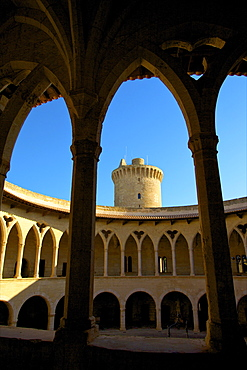 Castell de Bellver, Palma, Mallorca, Spain, Europe