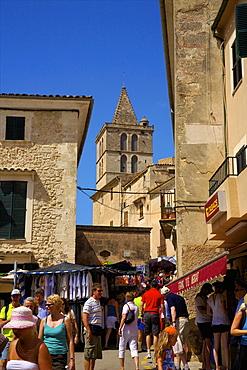 Market, Sineu, Mallorca, Spain, Europe