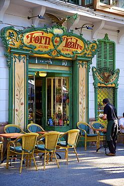 Restaurant, Old Town, Palma, Mallorca, Spain, Europe