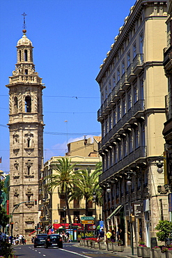 Santa Catalina Bell Tower, Valencia, Spain, Europe