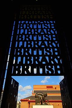 British Library, London, England, United Kingdom, Europe