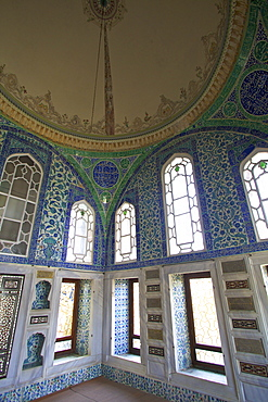 Privy Chamber of Sultan Ahmed 1, Topkapi Harem, Topkapi Palace, UNESCO World Heritage Site, Istanbul, Turkey, Europe