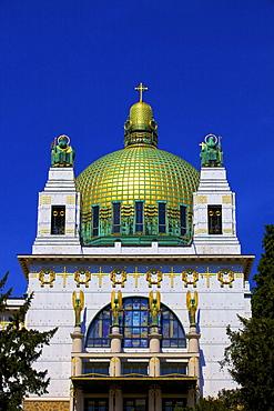 Kirche am Steinhof (Church of St. Leopold), the Art Nouveau church designed by Otto Wagner, Vienna, Austria, Europe