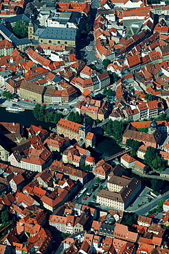 View on the old part of Bamberg, Bavaria, Germany