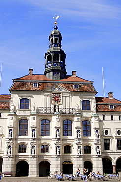 Town hall, Luneburg, Lower Saxony, Germany
