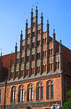 Facade of Old Town Hall, Hanover, Lower Saxony, Germany
