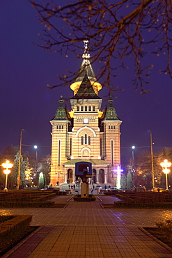 Orthodox cathedral Three Hierachs, Timisoara, Banat, Rumania