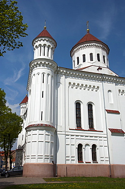 Orthodox church of Holy Mother of God, Vilnius, Lithuania, Baltic states, Europe