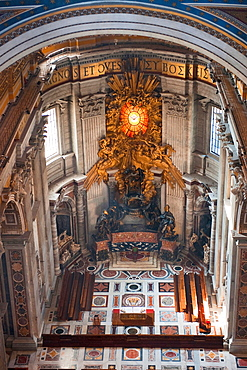 Holy See / Holy Chair, Saint Peter's Basilica, St. Peter's Cathedral, Vatican, Europe
