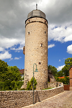 Saxon tower, Sackturm, Warburg, North Rhine-Westphalia, Germany