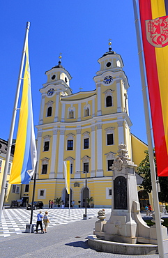 Basilica and parish church of St Michael, Mondsee, Upper Austria, Austria