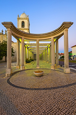 Se Cathedral known as the Church of Sao Domingos at twilight, Aveiro, Beira, Portugal