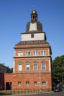Red Tower, Electoral Palace, Trier, Rhineland-Palatinate, Germany