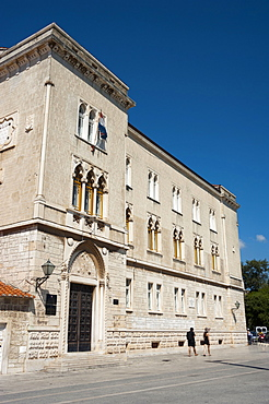 Palace of Justice, Old town, Trogir, Split-Dalmatia County, Croatia