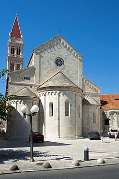 Cathedral of St. Lawrence, Church, Old town, Trogir, Split-Dalmatia County, Croatia