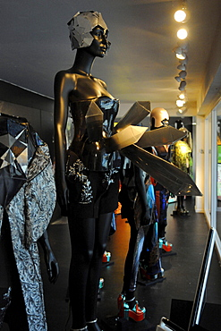 Exhibition in Fashion museum, Antwerp, Flanders, Belgium / shop window dummy