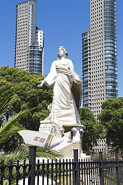 Monument to the Coastguards, Puerto Madero district, Buenos Aires, Argentina