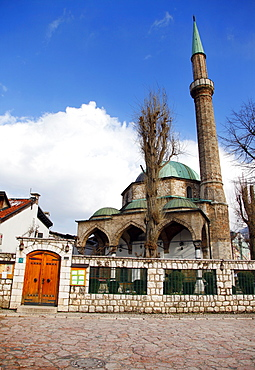 The Emperor's Mosque (Careva Dzamija), Sarajevo, Bosnia, Bosnia and Herzegovina, Europe