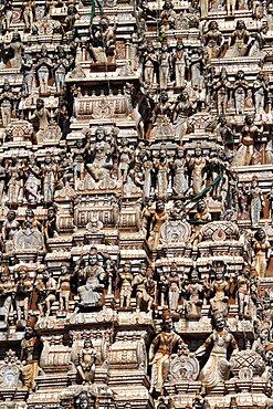 Sri Muthumariamman Thevasthanam Hindu Temple, Matale, Sri Lanka, Asia