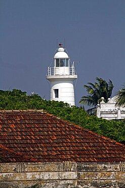 Lighthouse, Galle, Sri Lanka, Asia