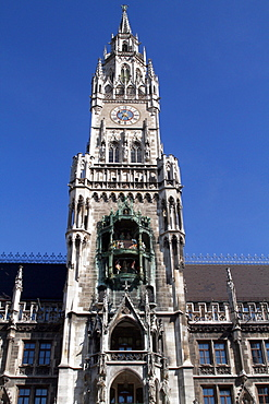 The Glockenspiel, Munich, Bavaria, Germany, Europe