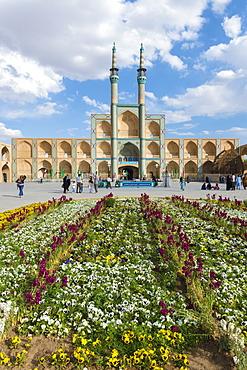 Amir Chaqmaq complex facade, Yazd, Yazd province, Iran, Middle East