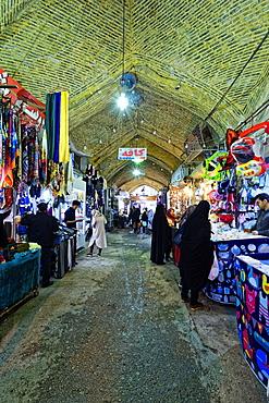Bazar-e Vakil (Vakil Bazaar), Interior, Shiraz, Iran, Middle East