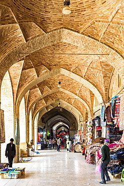 Old Vakil Bazaar, Meydan-e Gandj-e Ali Khan Square, Kerman, Kerman Province, Iran, Middle East