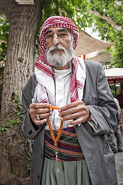 Portrait of a Turkish man, Urfa, Anatolia, Eastern Turkey, Asia Minor, Eurasia